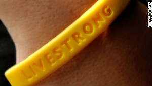 The Livestrong wristbands \