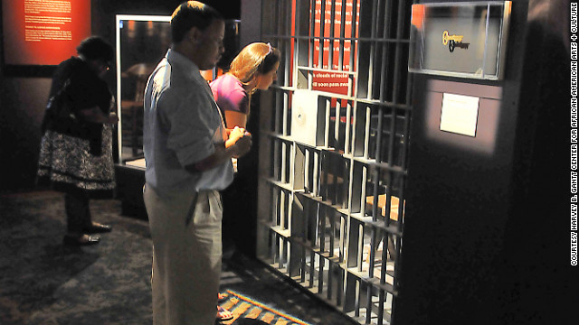 The museum features a jail-door key from the BIrmingham, Alabama, cell where the Rev. Martin Luther King Jr. was held after leading civil rights protests in 1963.