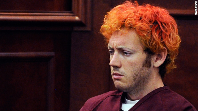 James Holmes is accused of killing 12 people during a showing of