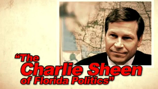 Group compares Florida candidate to Charlie Sheen in ad