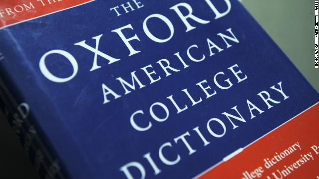 The Oxford 2014 word of the year is...
