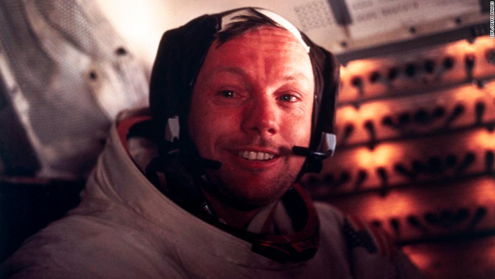 "On July 20, 1969, the Apollo 11 mission put the first humans on the moon. Neil Armstrong famously commemorated his first steps on the moon by saying, ""That's one small step for man, one giant leap for mankind."" Click through the gallery to see other milestones in space exploration. And go inside ""The Space Race"" on <a href='http://www.cnn.com/SPECIALS/us/the-sixties'>""The Sixties,""</a> Friday, July 25, at 9pET and Saturday, July 26, at 10p ET."