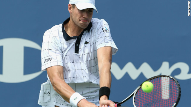 John Isner in the final at the Winston-Salem Open