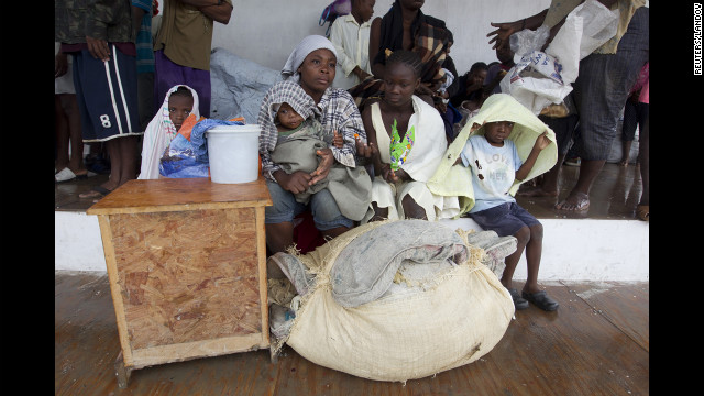 Photos: Haiti still in crisis as Isaac hits