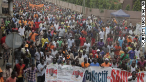 Demonstrators have taken to the streets in Togo\'s capital, Lome, for weeks to protest electoral reforms.