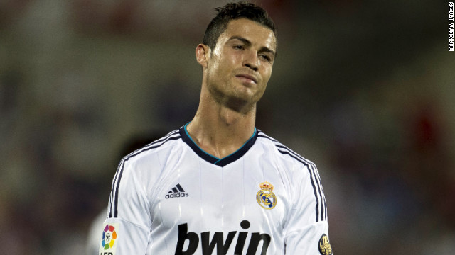 A downcast Cristiano Ronaldo faces up to Real Madrid's defeat by city rivals Getafe in La Liga.