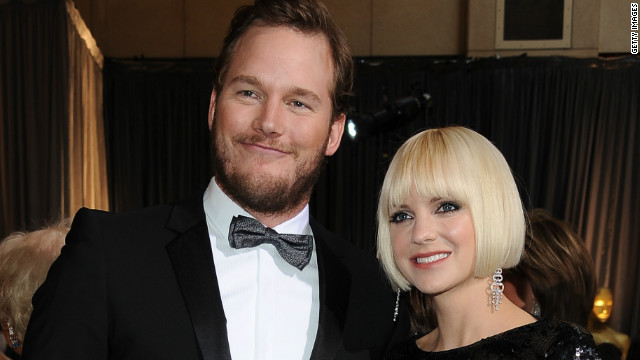 Anna Faris, Chris Pratt welcome son