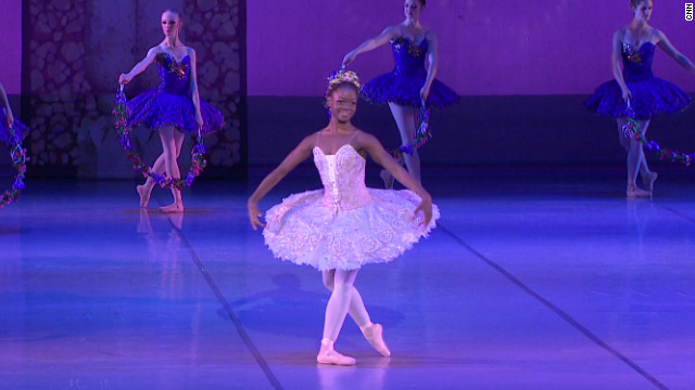 Teen dancer Michaela DePrince