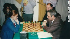 In 2001, Polgar drew twice against Kasparov at an elite invitational tournament in Spain. The following year, she would finally beat him.