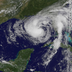 Isaac's eerie path: Storm is following Katrina's track