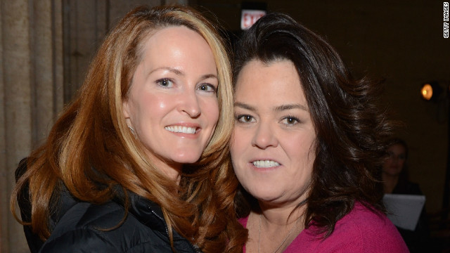 Rosie O'Donnell reveals details of private wedding