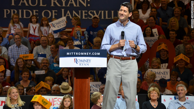 Homespun welcome for Ryan in Janesville