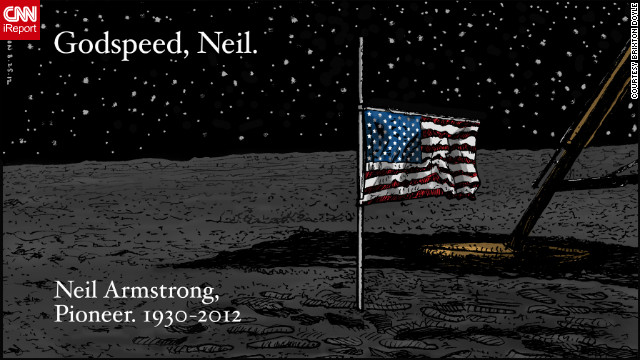 Comments: Armstrong&#039;s one small step resonated for all mankind