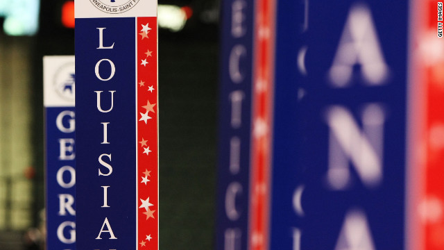 Tampa spared, but Louisiana delegates look homewards