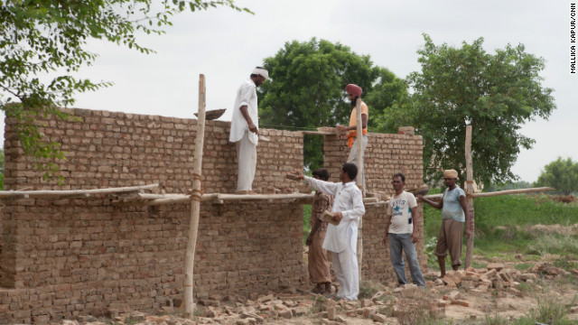 Kumar also started construction on a new house for his family. He bought bricks for it five years ago, but could not build it because he was heavily in debt. Thanks to guar farming, he has paid off his debt.