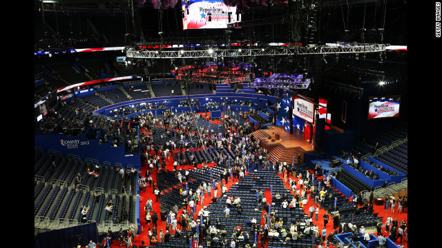 The Republican National Convention officially began Monday, August 27, but the bulk of the action was delayed until Tuesday.