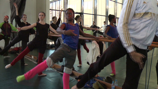 The young ballerina says she has had to work even harder to get accepted as a black dancer into the rarefied world of ballet. &quot;I'm still trying to change the way people see black dancers that we can become delicate dancers, that we can be a ballerina,&quot; she says.
