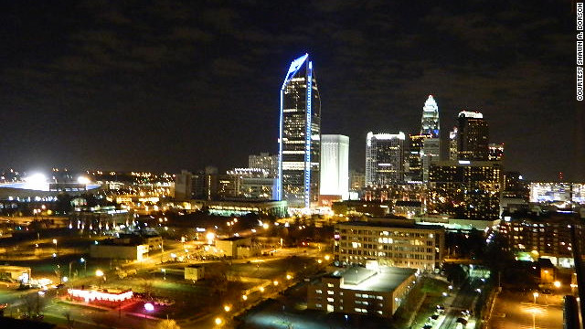 """Downtown Charlotte at Night"""""""