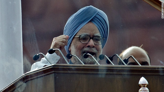 Indian Prime Minister Manmohan Singh, pictured here on August 15, 2012, was coal minister between 2006 and 2009.