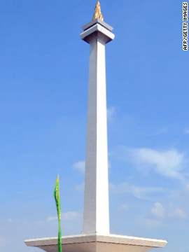 Indonesia's National Monument known locally as 'Monas' stands as a tribute to the nation's independence but also acts as a reminder of Jakarta's vibrant and multicultural history.