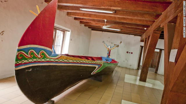 Museum Bahari is located in converted Dutch East India Company warehouses near the port of Sunda Kelapa and now operates as a museum to illustrate the rich maritime history of Jakarta.