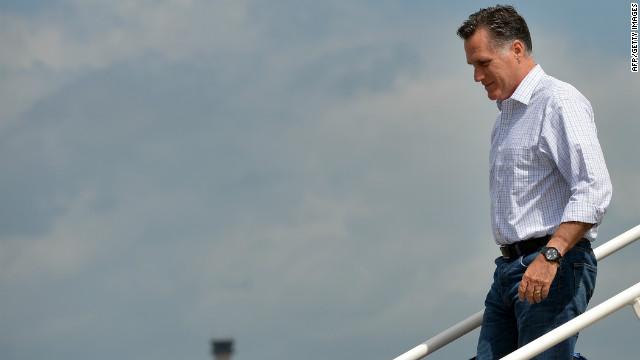 Mitt Romney llega a la Convención Republicana tras el retraso por «Isaac»