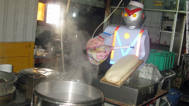 los robots remplazar n a los trabajadores de comida r pida cnn. Black Bedroom Furniture Sets. Home Design Ideas