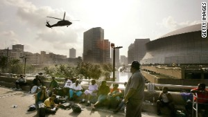 Hurricane Katrina devastated New Orleans when it struck the Gulf Coast in late August 2005.
