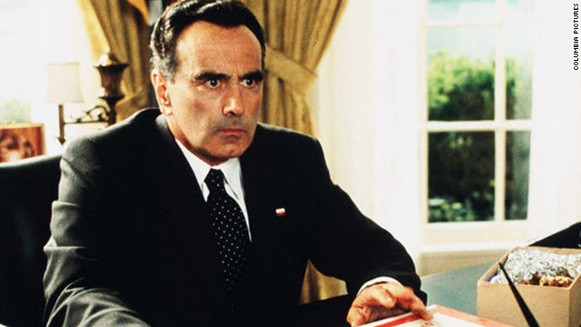 "Dan Hedaya plays Richard Nixon in 1999's ""Dick."" Two young girls (Michelle Williams and Kirsten Dunst) act as Deep Throat in this parody of the Watergate scandal."