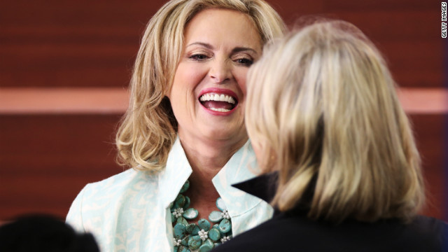 Speech prep: Ann Romney&#039;s wisecracks, welsh cakes and wardrobe