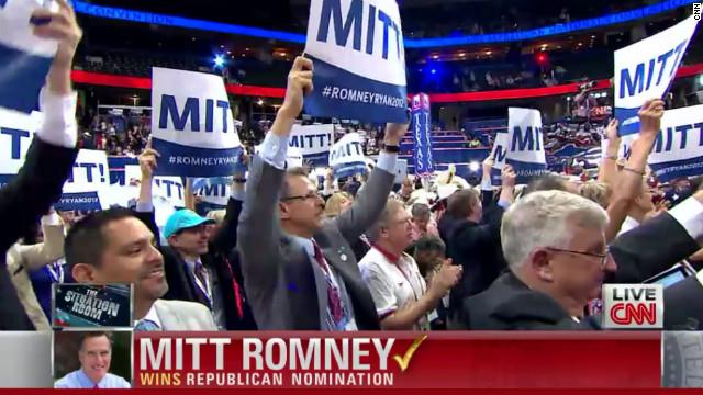 Mitt Romney logra la nominación como candidato republicano