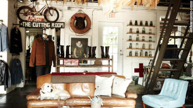 At Imogene + Willie, a handful of gentlemen iwth trimmed beards sell jeans, beautiful shoes, boots, cotton shirts and shorts, chambray dresses and canvas weekend bags with leather trim. 2601 12th Avenue South; 615-292-5005; imogeneandwillie.com