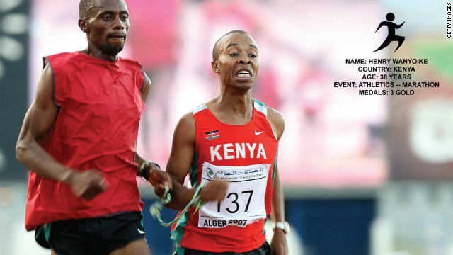 In 1995, while training to become a professional runner, Henry Wanyoike became almost completely blind after suffering a stroke. He got back to competing, and became one of the fastest men on the planet. He holds two world records in 5,000 meters, 10,000 meters and the record time for marathon.