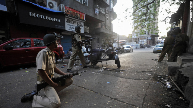 More than 160 people were killed in the coordinated attacks on Mumbai that lasted three days.