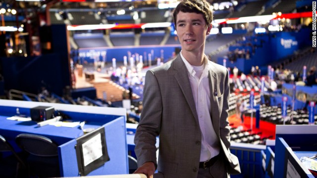 The youngest Republican delegate
