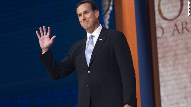 2016 watch: Santorum's busy day in Iowa