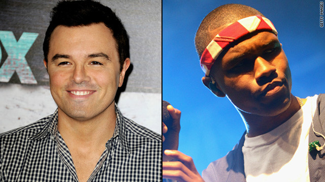 Seth MacFarlane, Frank Ocean headed for 'SNL'