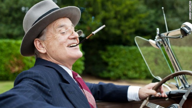 Bill Murray plays Franklin D. Roosevelt in &quot;Hyde Park on Hudson.&quot; The dramedy focuses on FDR's relationship with Margaret Suckley, better known as Daisy (Laura Linney). British actress Olivia Williams plays Eleanor Roosevelt in the film, set in 1939.