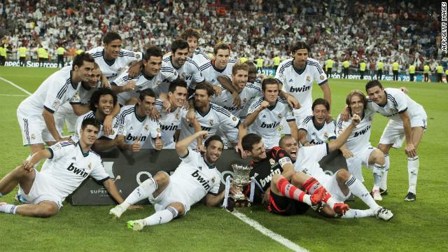 Real Madrid gana la Supercopa al Barcelona