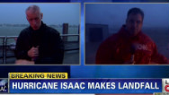 Hurricane Isaac: Anderson reports