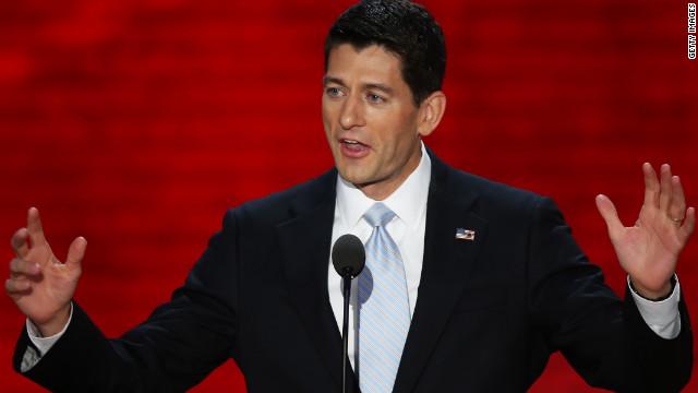 Paul Ryan acepta la nominación como candidato a la vicepresidencia