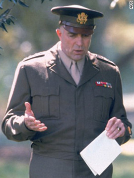 "Tom Selleck ditched his mustache for 2004's ""Ike: Countdown to D-Day."" In the Robert Harmon-directed TV movie, about the months leading up to Operation Neptune, Selleck plays Gen. Dwight D. Eisenhower before becoming the 34th president of the United States. ""A&E's comprehensive production is anything but dull,"" <a href='http://www.variety.com/review/VE1117923983?refCatId=31' target='_blank'>Variety's Laura Fries </a>wrote of the film, which was nominated for six Emmy Awards."