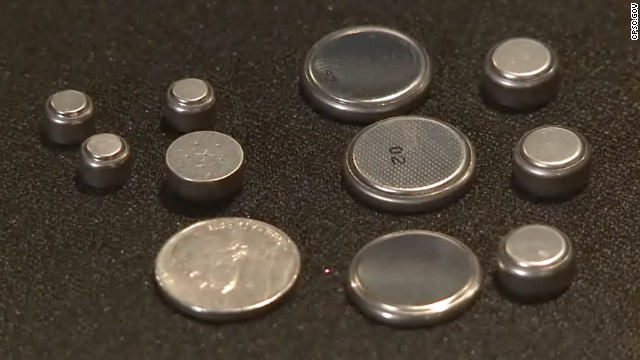 CDC warns parents to beware button batteries