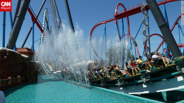 <a href='http://ireport.cnn.com/docs/DOC-834047'>Julius Levy rode Shambhala</a> in Salou, Spain. It's PortAventura's newest roller coaster and the tallest coaster in Europe.