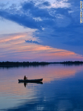 Paddle along the same routes as early French trappers, traders and explorers on Lake Kabetogama in northern Minnesota.