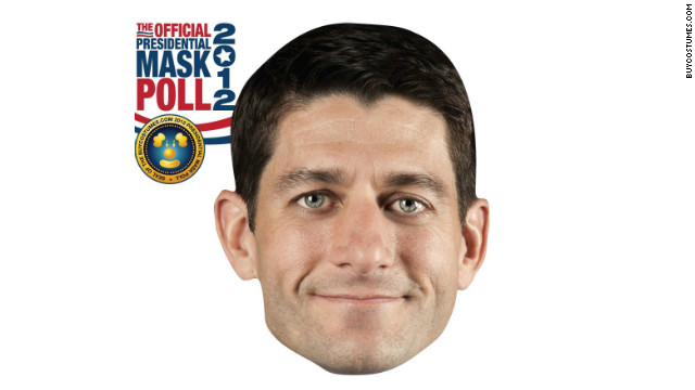 GOP delegates snapped photos of themselves wearing these Paul Ryan paper masks and posted them to Instagram.
