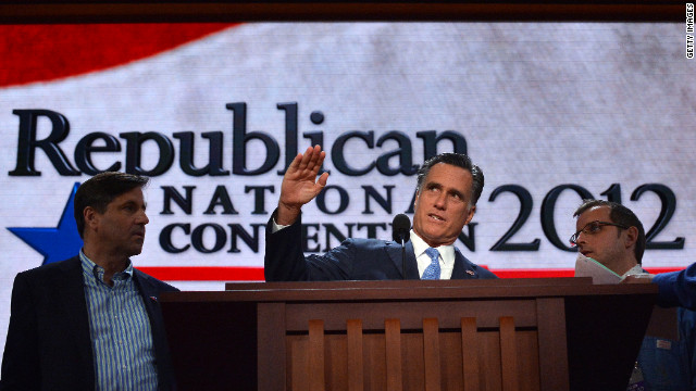 Excerpts: Romney&#039;s acceptance speech