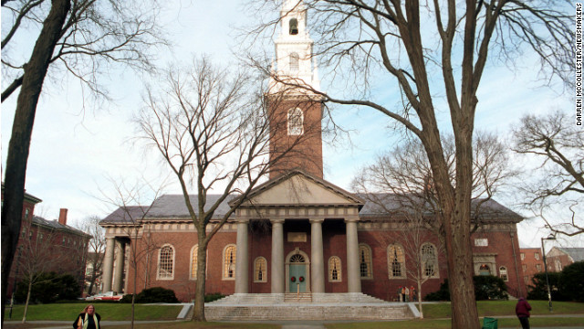 Allegations of widespread cheating in government class probed at Harvard