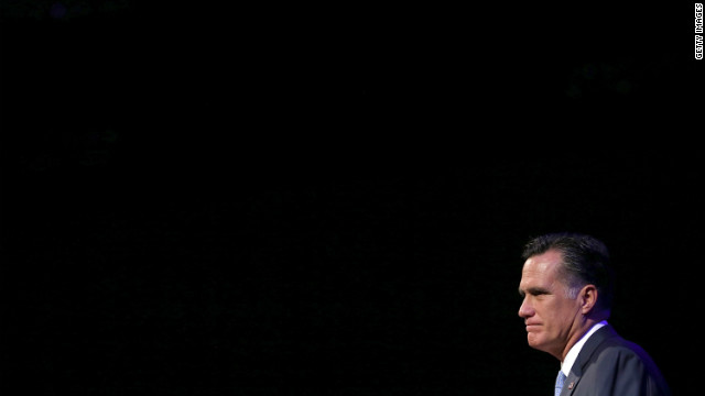 Romney offers Reaganesque themes in defining speech