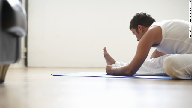 Yoga can loosen up your muscles and increase your body's longevity, John Farah says. 